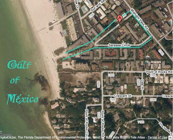 Tropical Shores Beach Resort - Siesta Key  Florida