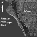 Sarasota/Siesta Key Satellite view