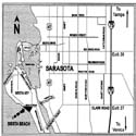 Sarasota Florida Interstate (I 75) Map